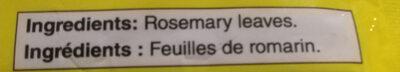 Rosemary leaves - Ingredients - en
