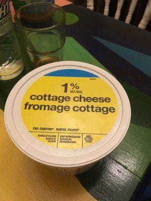 1% Cottage Cheese - Produit - fr