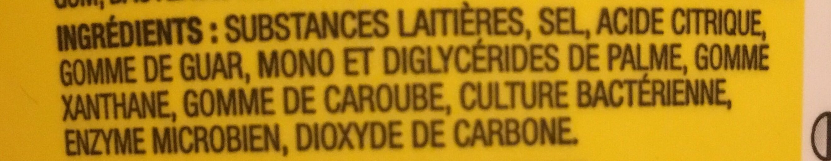 1% Cottage Cheese - Ingrédients - fr