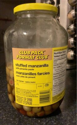 Stuffed manzanilla with pimento paste - Product - en