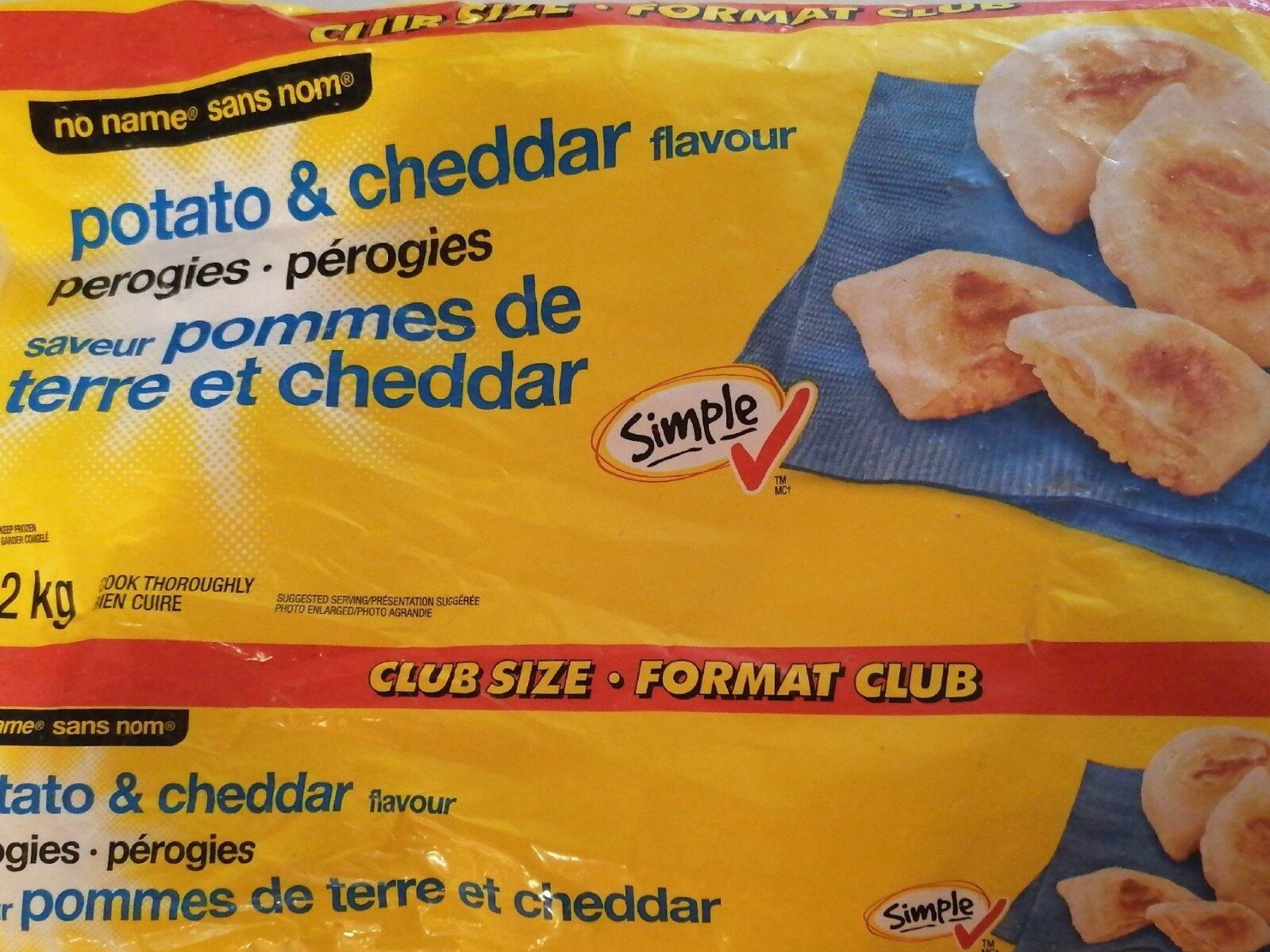 Pérogies saveur pomme de terre et cheedar - Product - fr