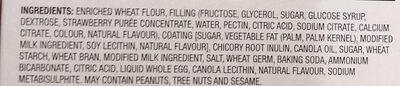 Crispy Snacks with Strawberry Filling - Ingrédients - en