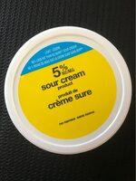 Crème sure 5% - Produit - fr