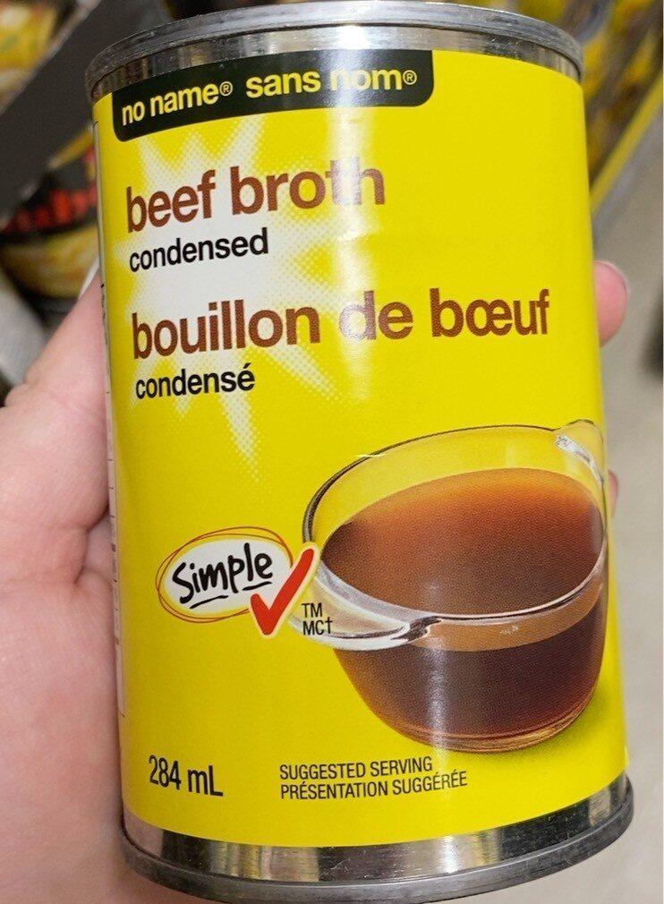 Bouillon de boeuf - Product - fr