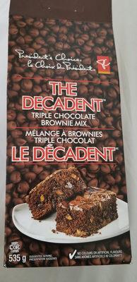 mélange à brownies triple chocolat - Product - fr