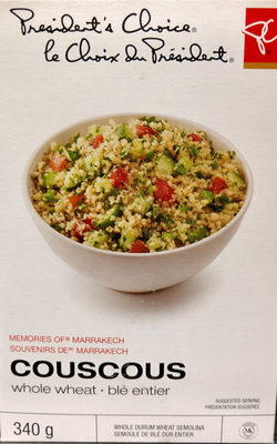 Memories of Marrakech Couscous Whole Wheat - Produit - en