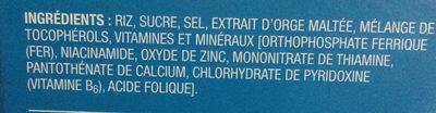 Riz croustillant - Ingrédients - fr