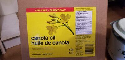 canola oil - Product - en