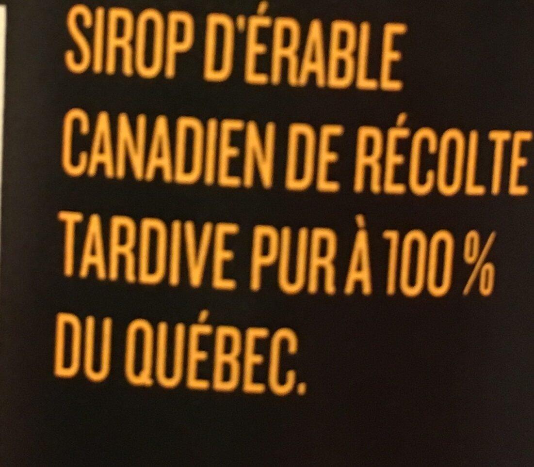 PC Black Label Pure Maple Syrup - Ingrédients - fr