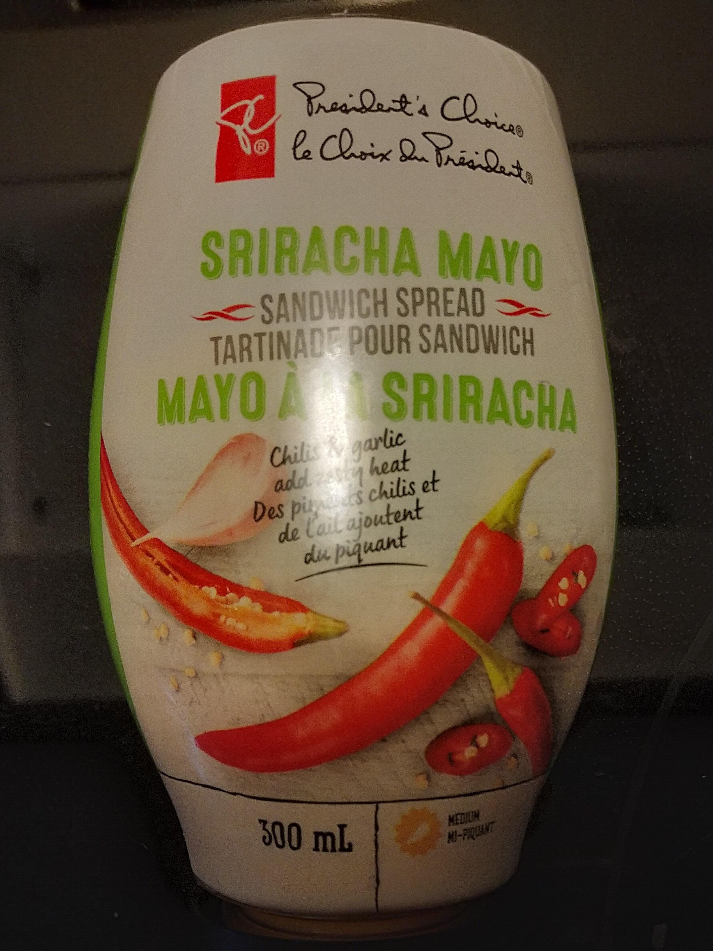 Siracha Mayo - Produit - en
