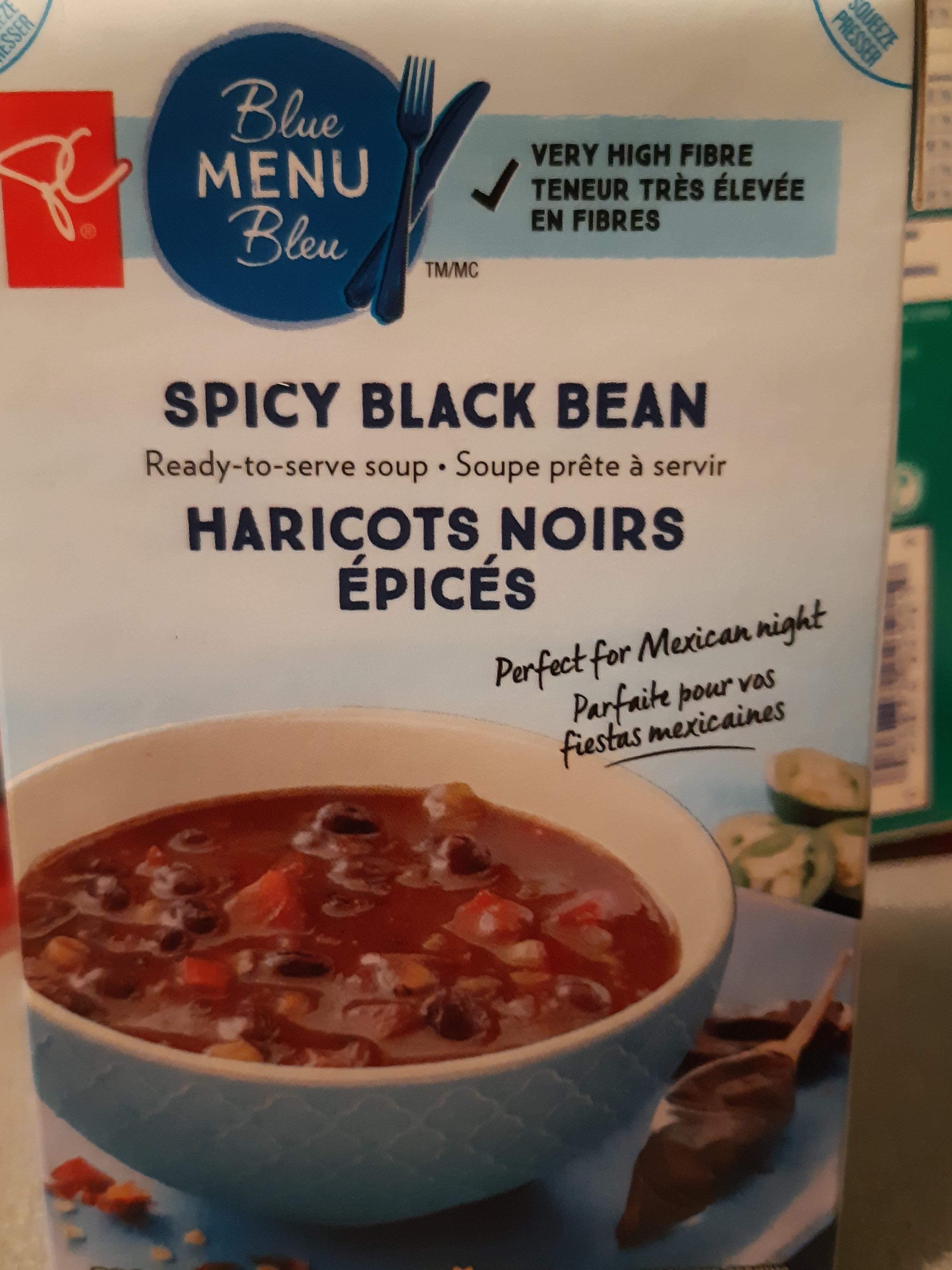 Soupe haricots noirs épicés - Produit - fr