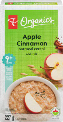 Banana apple cinnamon cereal add milk + months baby cereal - Produit - en