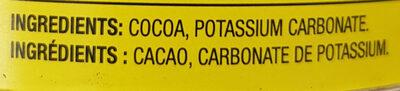 Cacao - Ingrédients - en