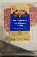Mild Genoa salami - Produit - en