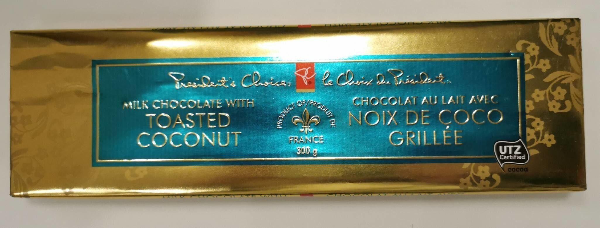 Chocolat au lait avec noix de coco - Product - fr