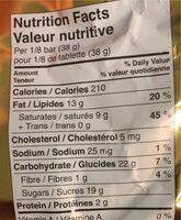 Chocolat au lait avec noix de coco - Nutrition facts - fr