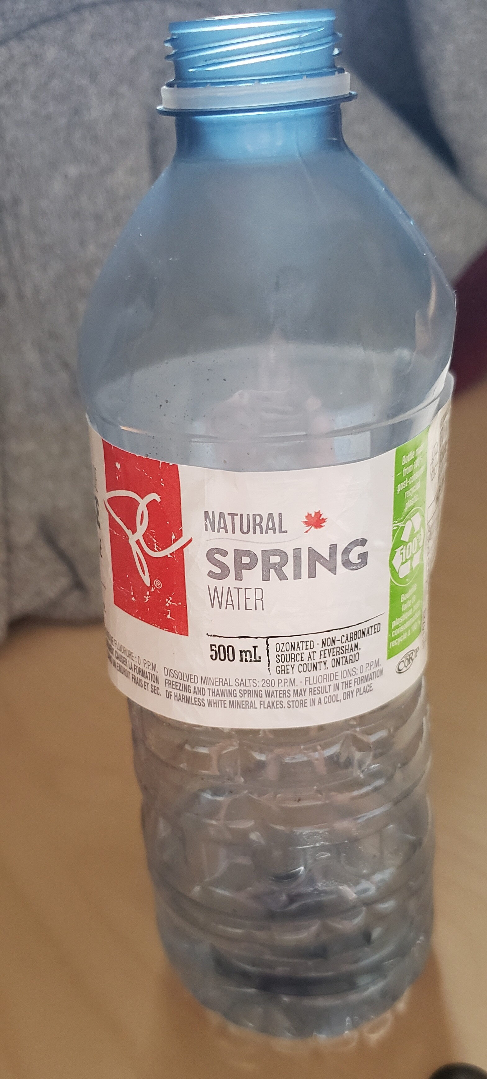 natural spring water - Produit - en