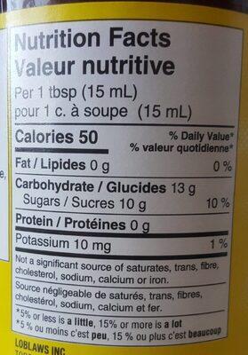 Confiture - Nutrition facts - en