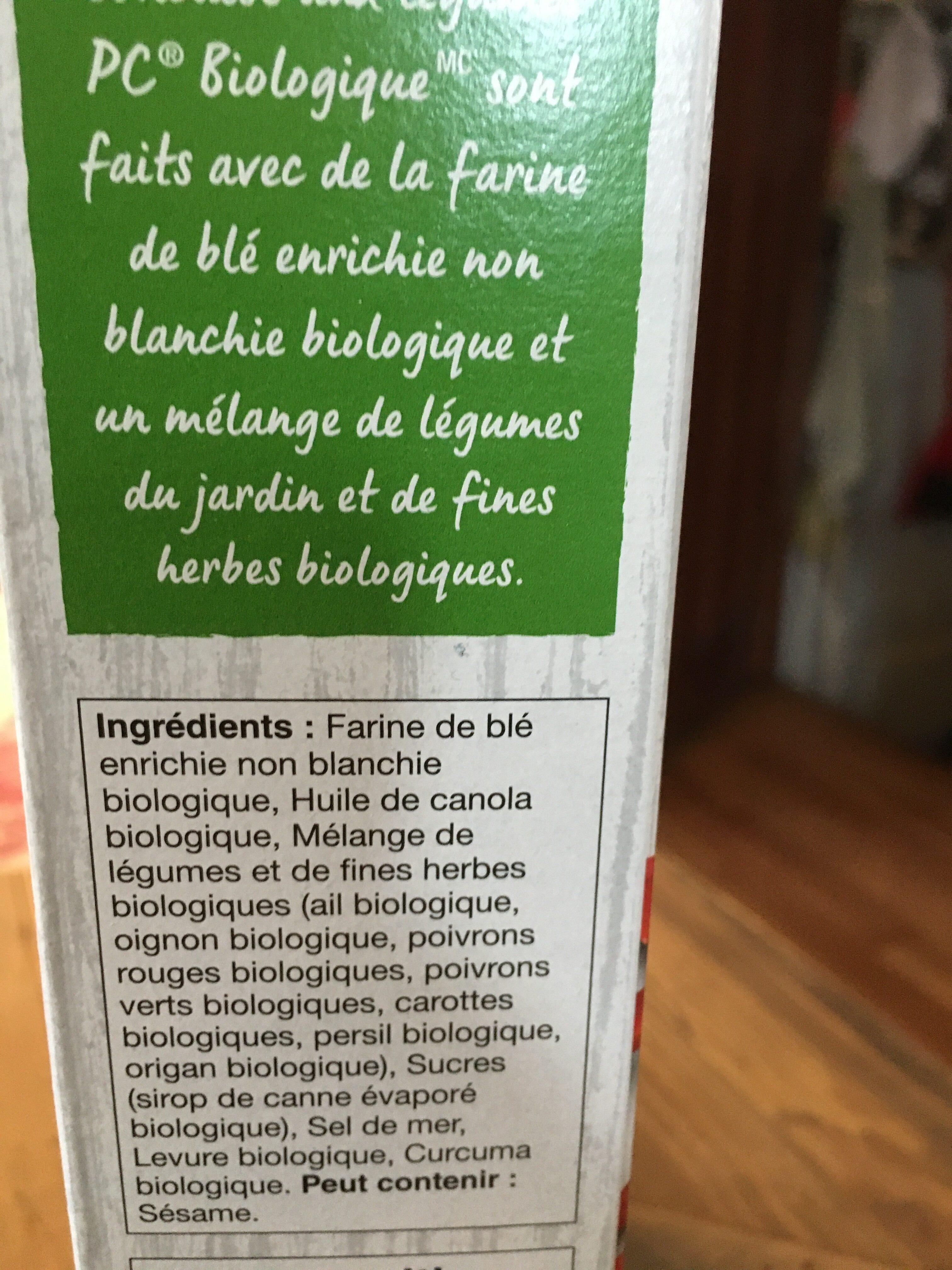 Craquelins de blé concassé - Ingrédients - fr