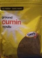 Ground cumin - Product - en