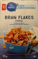 Bran flakes cereal - Product - en