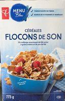 Bran flakes cereal - Produit - fr