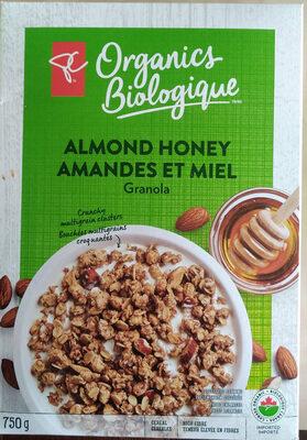 granola amandes et miel - Product