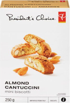 Almond cantuccini mini biscotti - Produit - fr