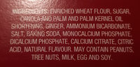 English-style gingersnap - Ingredients - fr