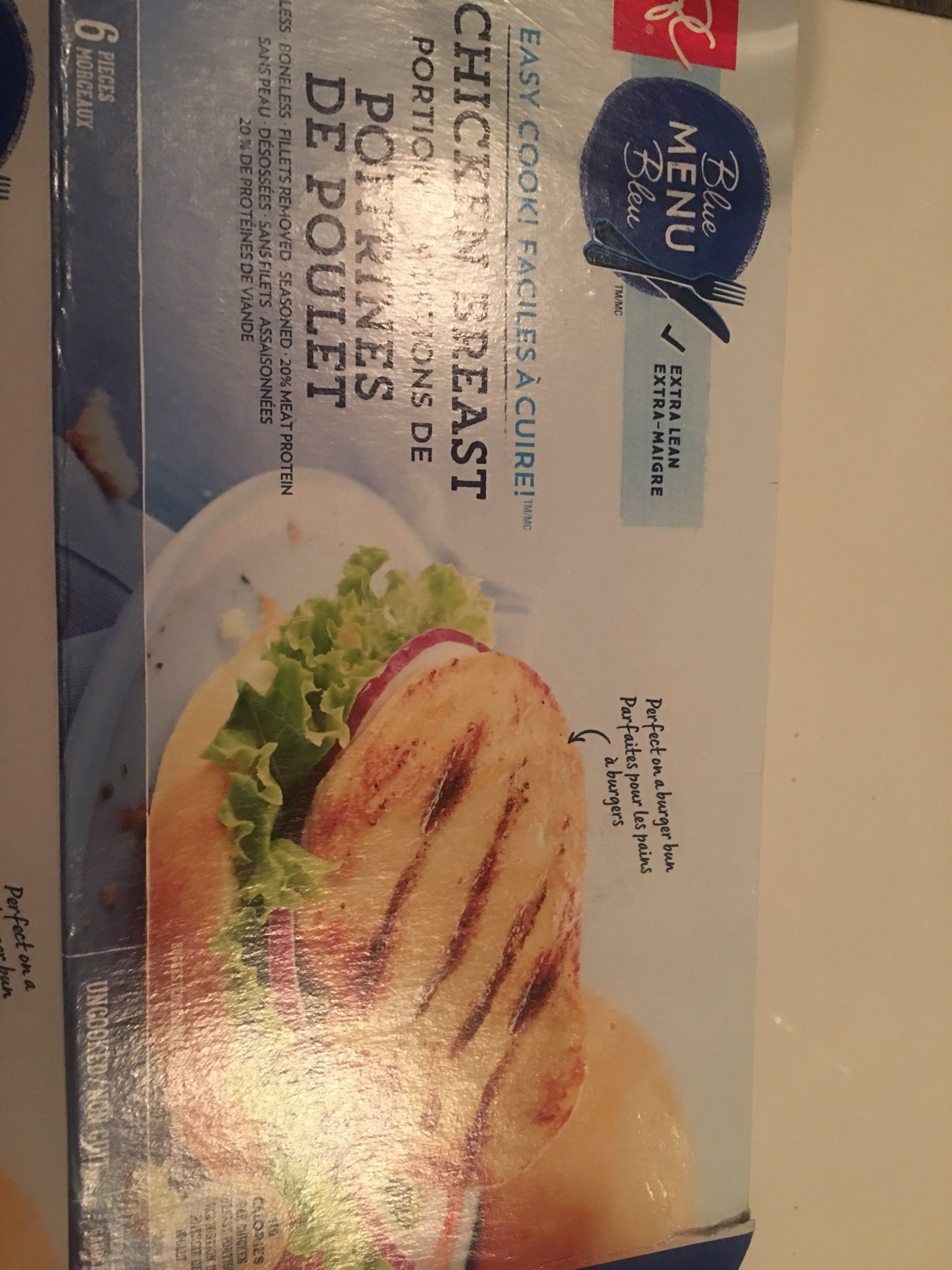 Poitrine de poulet - Produit - fr