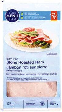 Extra lean stone roasted ham - Product - fr