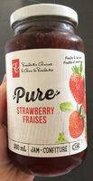 Pure Strawberry fraises - Produit - fr