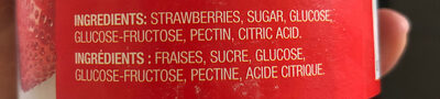 Pure Strawberry fraises - Ingrédients - fr