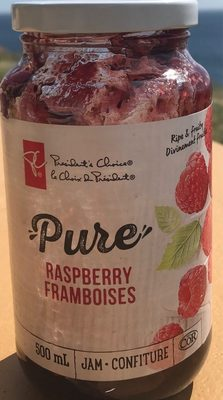 Pure Raspberry Jam - Product - fr
