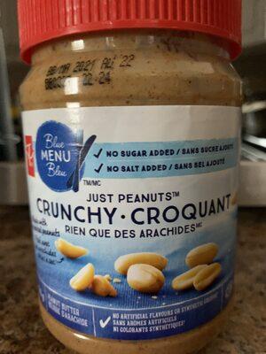 Beurre d'arachide croquant - Prodotto - fr