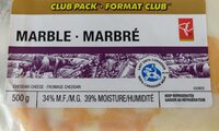 Fromage cheddar marbré - Produit - fr