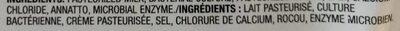 Fromage cheddar marbré - Ingrédients - fr