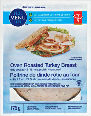 Extra lean oven roasted turkey breast - Product - fr