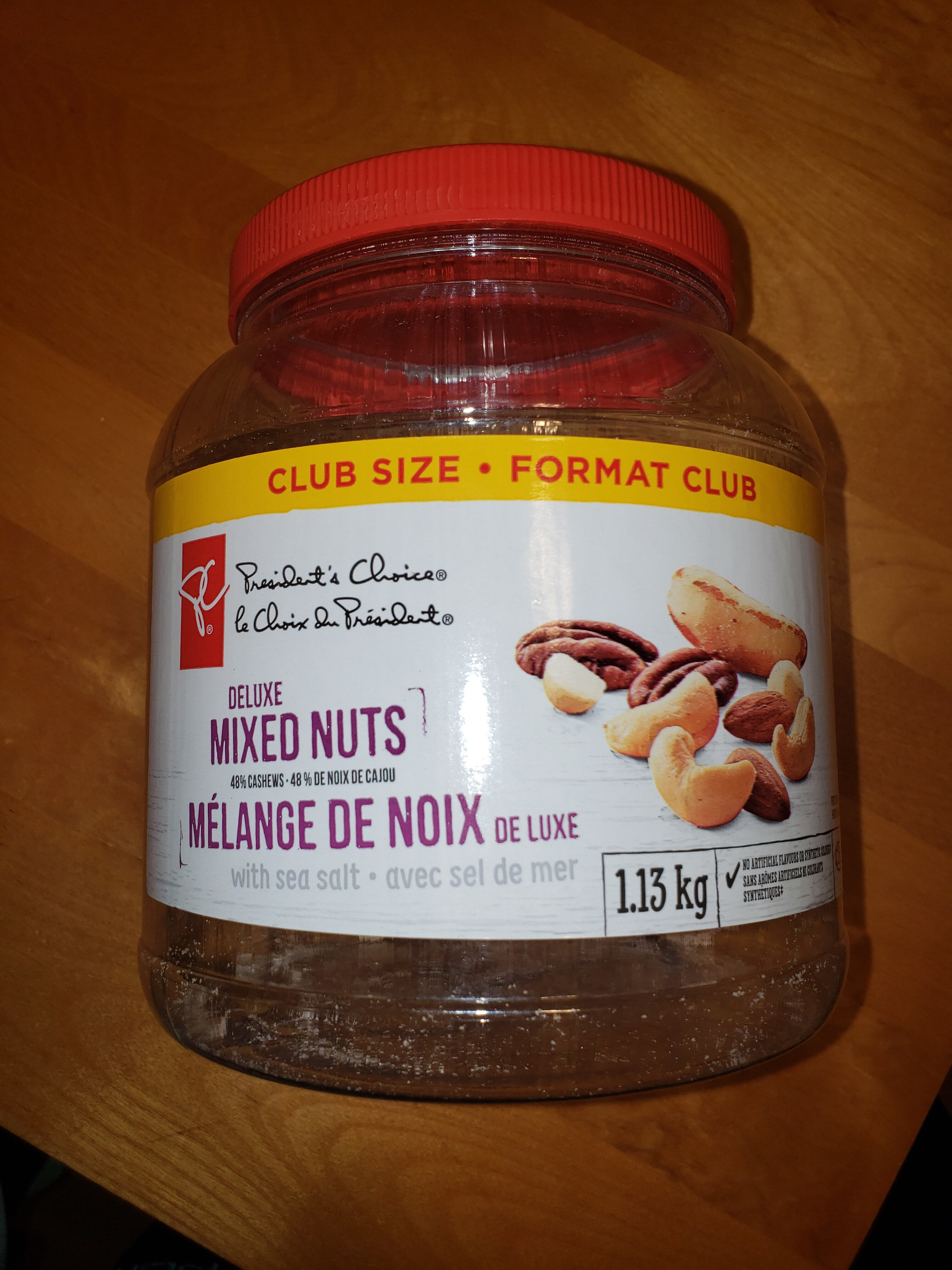Deluxe mixed nuts - Produit - fr