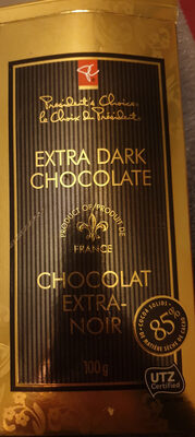 extra dark chocolate 85% - Product