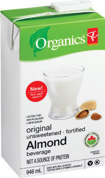 Original unsweetened fortified almond beverage - Product - fr