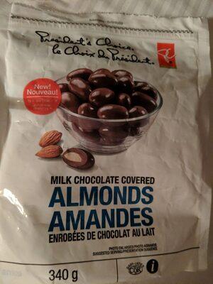 Amendes enrobées de chocolat au lait - Product - fr