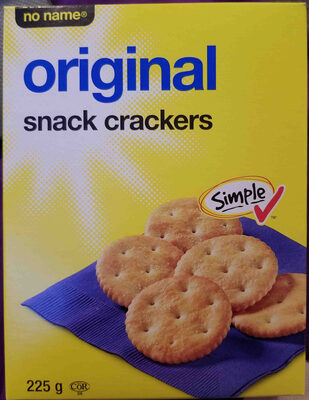 original snack crackers - Product - en