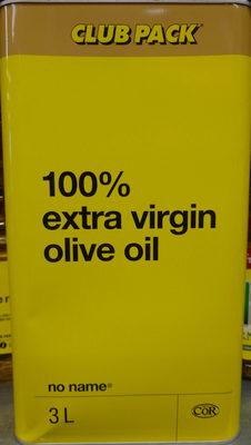 100% extra virgin olive oil - Produit - zh