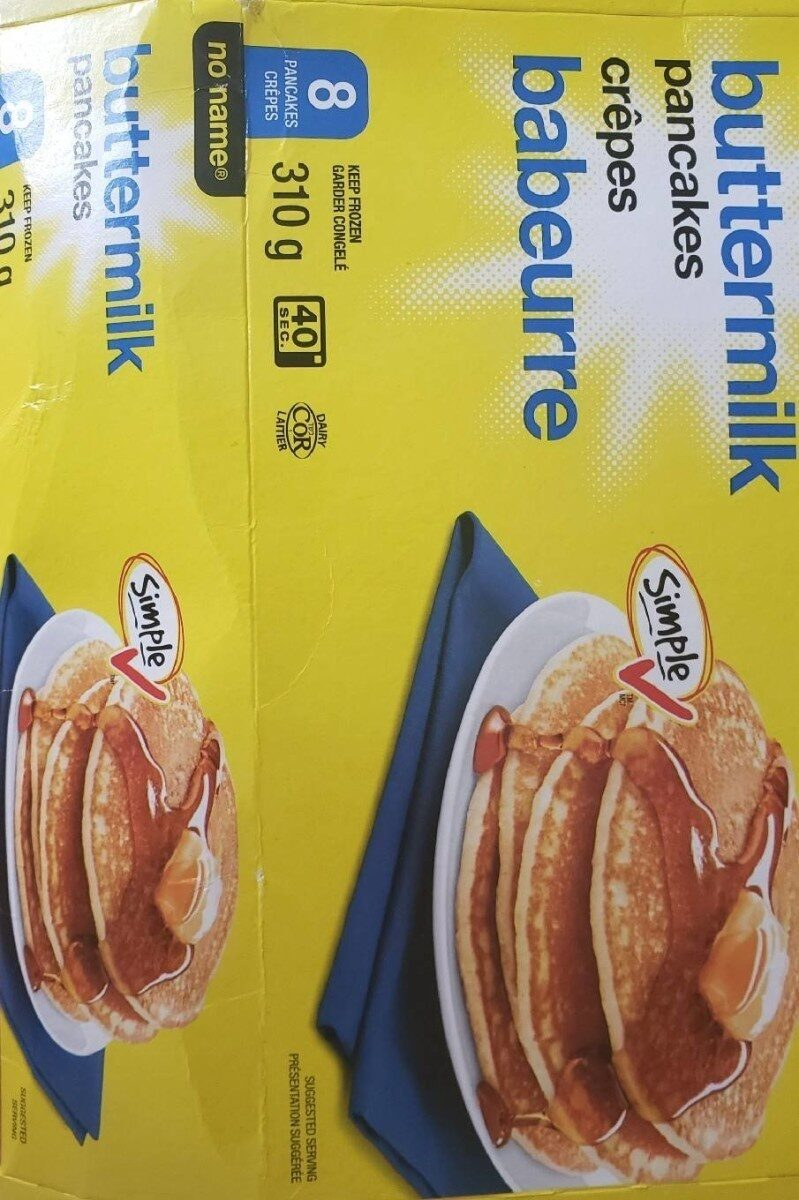 No name buttermilk pancakes - Product - fr