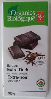 European extra dark chocolate - Product - en