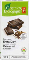 European extra dark chocolate - Produit - fr