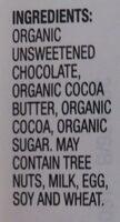 European extra dark chocolate - Ingredients - en