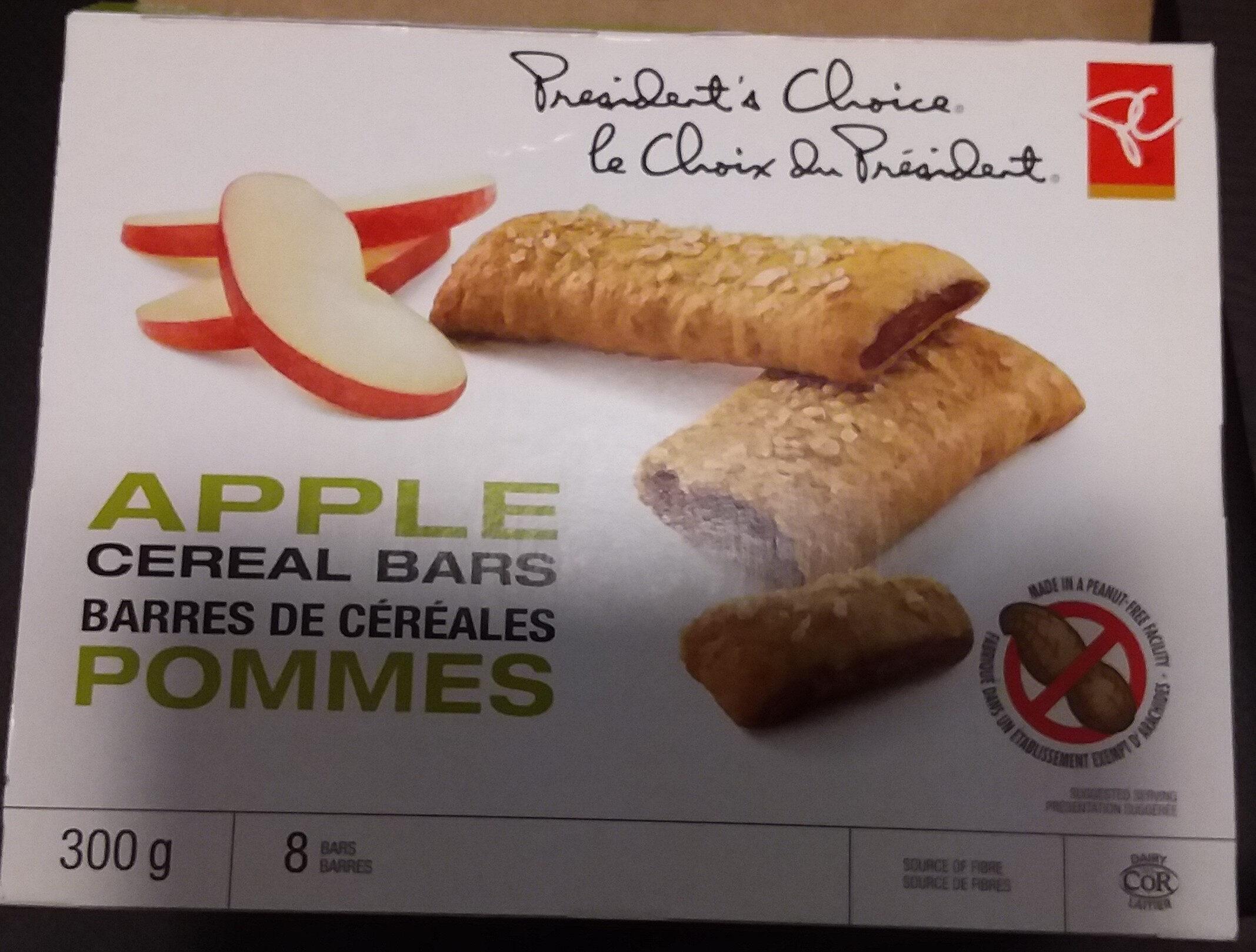 Apple cereal bars - Product - en