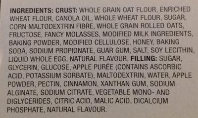 Apple cereal bars - Ingredients - en